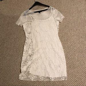 Lauren Ralph Lauren Size Large White Dress
